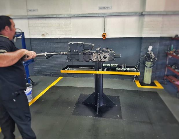Drifter Repairs sandvik 1560 rock drill