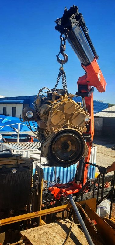remove and replacing cat c32