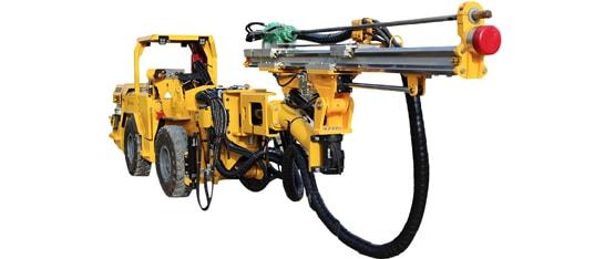 underground drill rig Montabert hc25